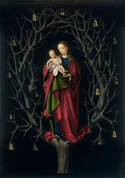 Die Jungfrau vom trockenen Baum, Petrus Christus