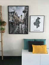 Kundenfoto: Haarlem - Warmoesstraat nach dem Regen von Olaf Kramer