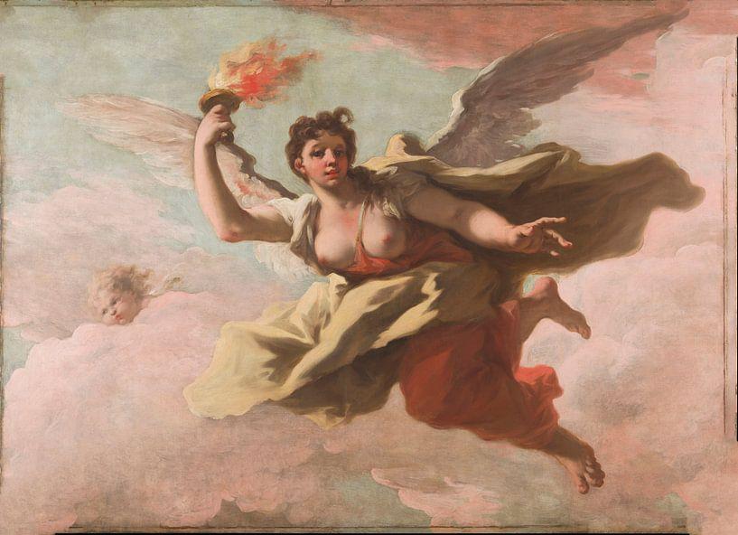 Giovanni Antonio Pellegrini, Aurora, 1718 van Meesterlijcke Meesters