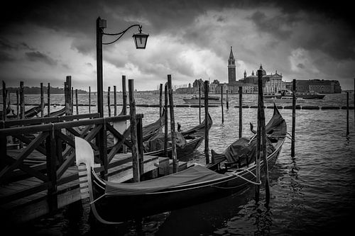 VENEDIG San Giorgio Maggiore schwarz-weiß