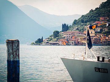 Lake Iseo - Peschiera Maraglio van