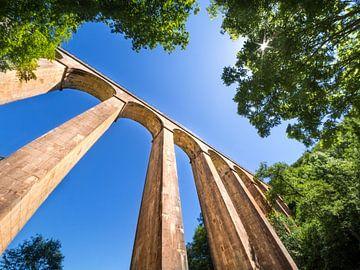 Aquaduct in de Franse Morvan van Rijk van de Sandt