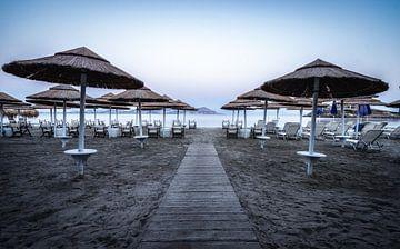 Naxos Strand in de vroege ochtend van Mario Calma