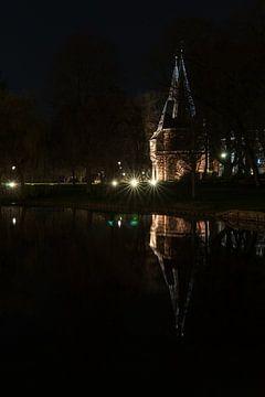 Oude Cellebroeders stadspoort in Kampen van Fotografiecor .nl