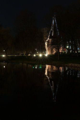 Oude Cellebroeders stadspoort in Kampen