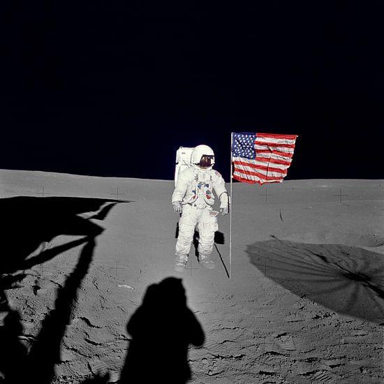 Astronaut Edgar D. Mitchell