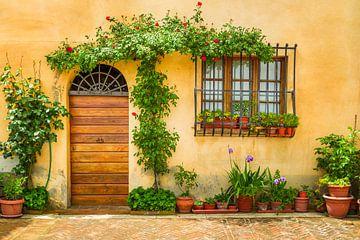 Schöne italienische Fassade von Henny Hagenaars