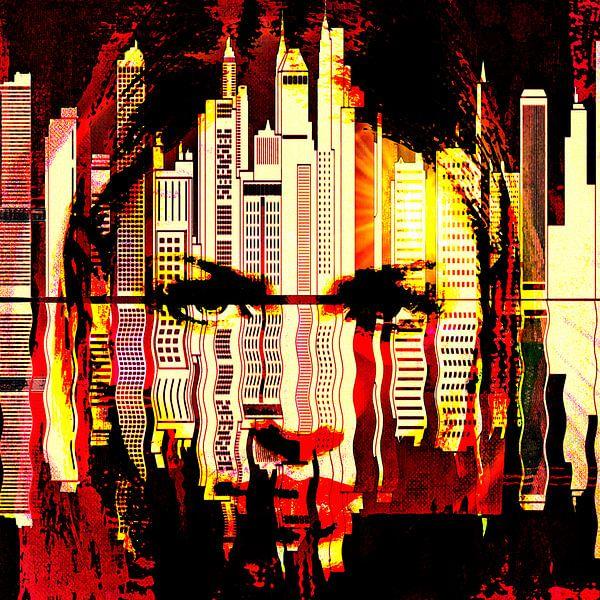Girl in the big city von PictureWork - Digital artist
