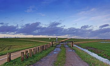 Le ciel des polders sur Petra Vastenburg