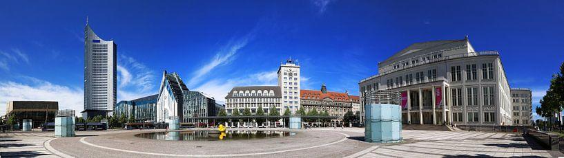 Augustusplatz Leipzig van Marcel Schauer
