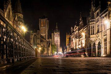 Gent by night 2 van Rick Giesbers