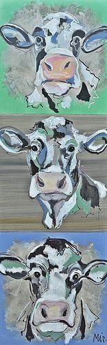 Hollandse koeien Landelijk van Kunstenares Mir Mirthe Kolkman van der Klip