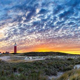 Nördlichste Spitze von Texel. von Justin Sinner Pictures ( Fotograaf op Texel)