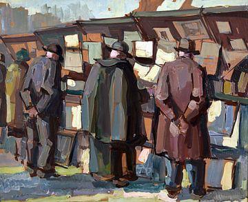 Buchmarkt, Pierre DE BELAY von Atelier Liesjes