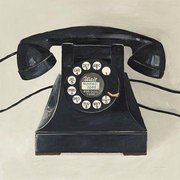 Klassieke telefoon op room, Avery Tillmon van Wild Apple