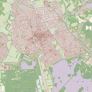Kaart vanBussum