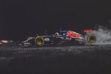 Max Verstappen F1 Toro Rosso - 1e race STR10 van Kevin Baarda