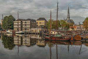 Stadsgezicht Museumhaven Gouda