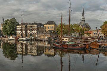 Stadsgezicht Museumhaven Gouda sur Renate Oskam