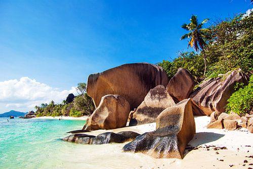 Seychellen - La Digue - Anse Source d'Argent von