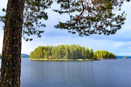 Stora Le See im Dalsland Lake District in Schweden