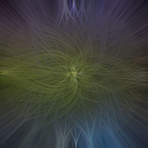 Abstract vierkant 1 van Leo Luijten