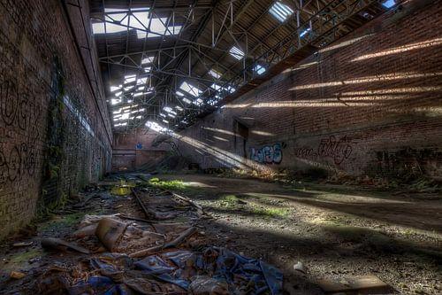 Verlaten baksteenfabriek (Urbex)