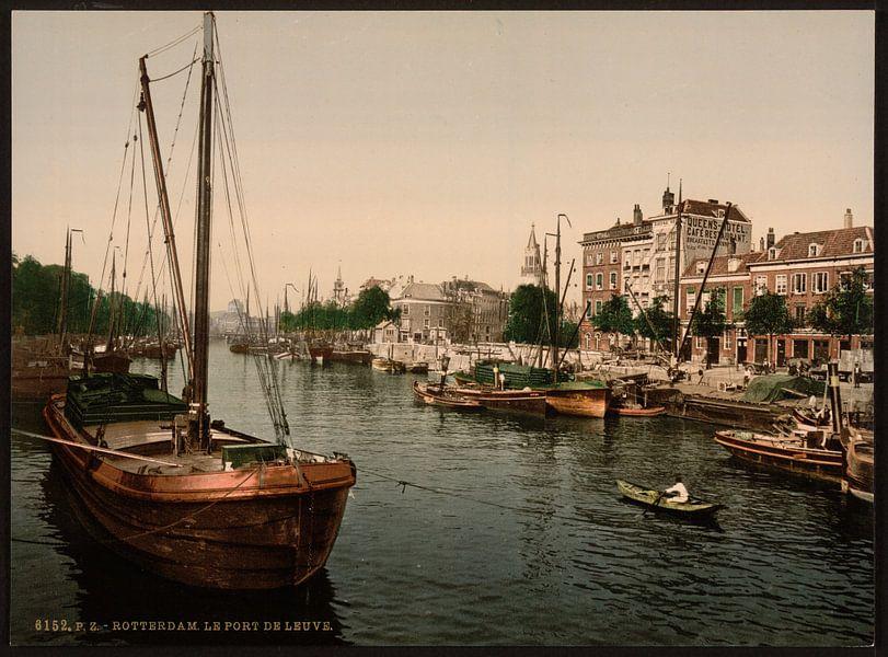 Leuvehaven, Rottterdam van Vintage Afbeeldingen