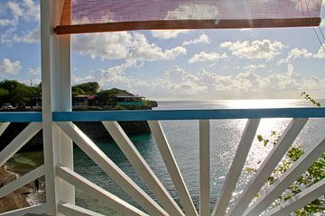 Sonnenuntergang auf Curacao von rene marcel originals