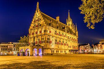 Stadhuis Gouda Rückansicht von Michael van der Burg