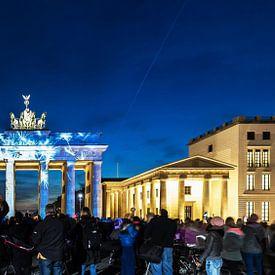 Brandenburger Tor Berlijn in een speciaal licht van Frank Herrmann