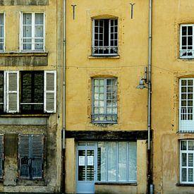 la maison jaune (het gele huis) van Yvonne Blokland