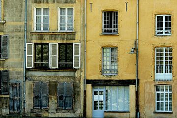 la maison jaune (het gele huis) von Yvonne Blokland
