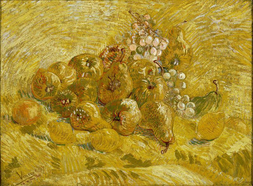 Vincent van Gogh. Kweeperen, citroenen, peren en druiven van 1000 Schilderijen