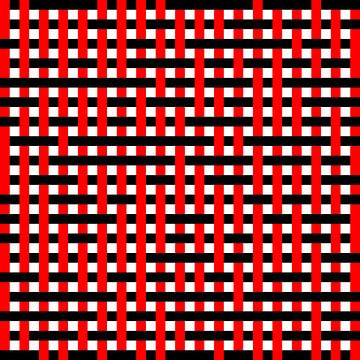 Onder en over Random #05 10x10 RD 10x10 RD van Gerhard Haberern
