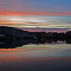 Weerspiegeling in Tromsø van Jarne Buttiens