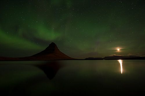 Kirkjufell, IJsland van
