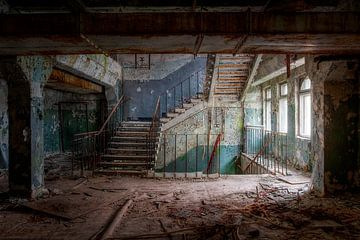 De trapzaal van Steve Mestdagh
