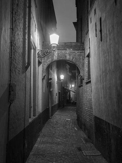 Eine Straße in Brügge