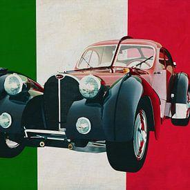 Bugatti Atlantic Italienisches Design in seiner besten Form von Jan Keteleer