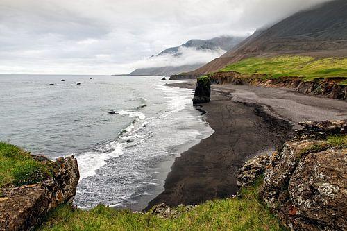 Djúpavogshreppur oost-kust van IJsland van