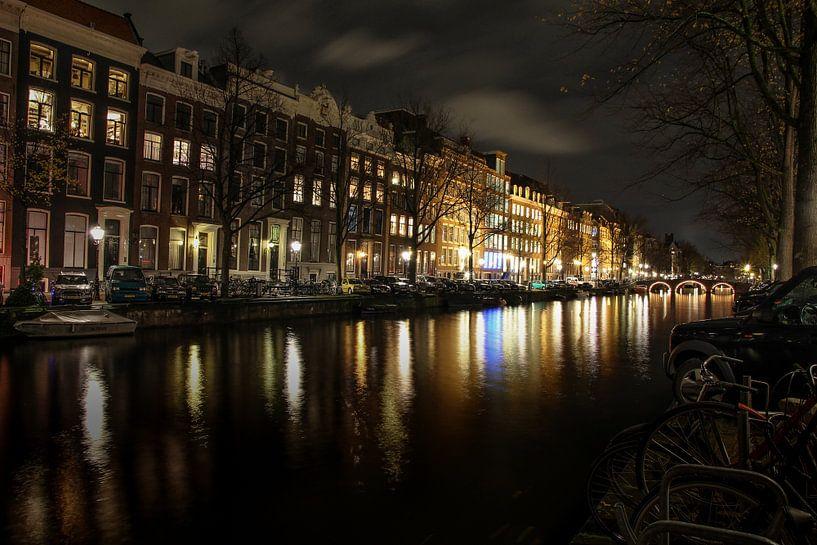 Amsterdam by night van Marlous en Stefan P.