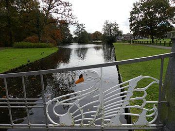 Zwanenbrug in Park Sonsbeek Arnhem van Petra Dielman