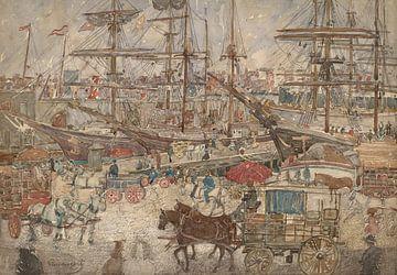 Maurice Prendergast-Ports, Ost-Boston