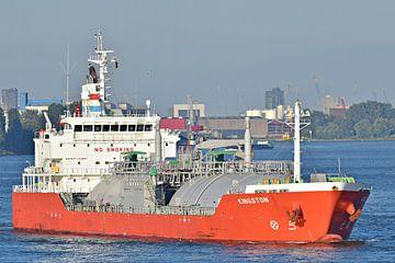 Le pétrolier GPL Kingston