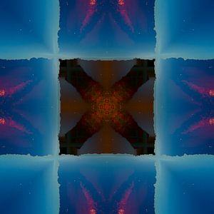 Abstracte fotosamenstelling van