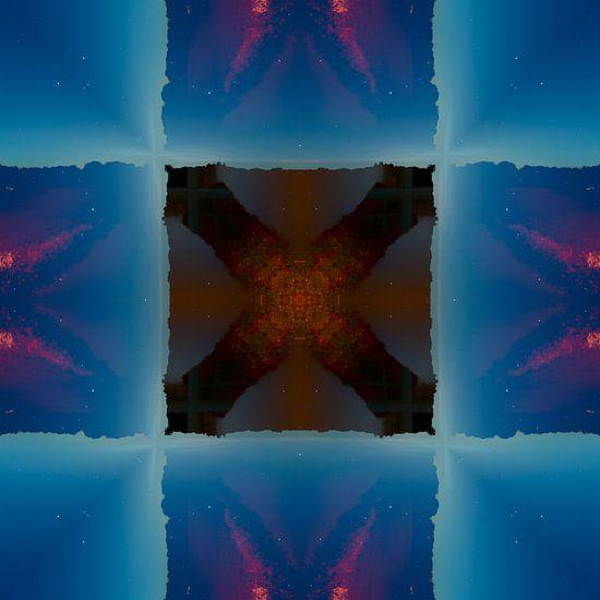 Abstracte fotosamenstelling van Mark Scheper