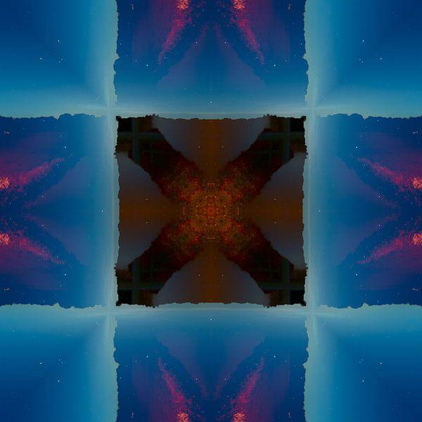 Abstracte fotosamenstelling sur Mark Scheper
