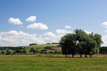 Fraai Frans landschap tussen Flabas en Montmédy van Bert Meijerink