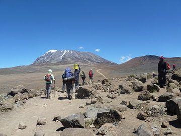 Beklimmen van Kilimanjaro von Dempsey Cappelle